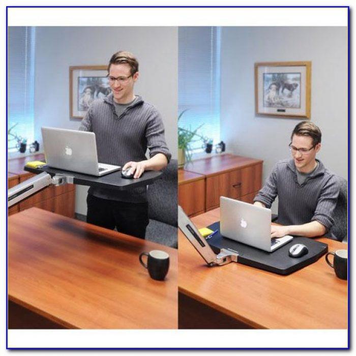 Ergotron Workfit S Sit Stand Desk Attachment Desk Home