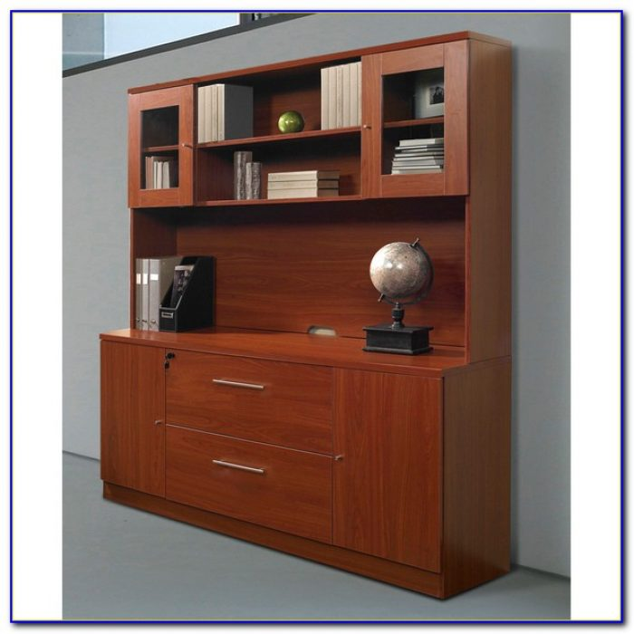Strongson Furniture Blair Credenza Desk With Hutch