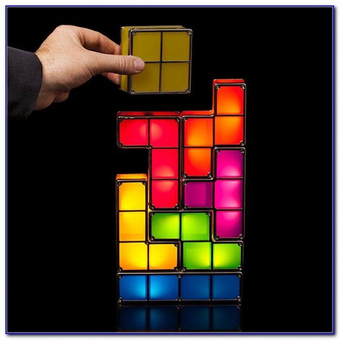 Tetris Desk Lamp