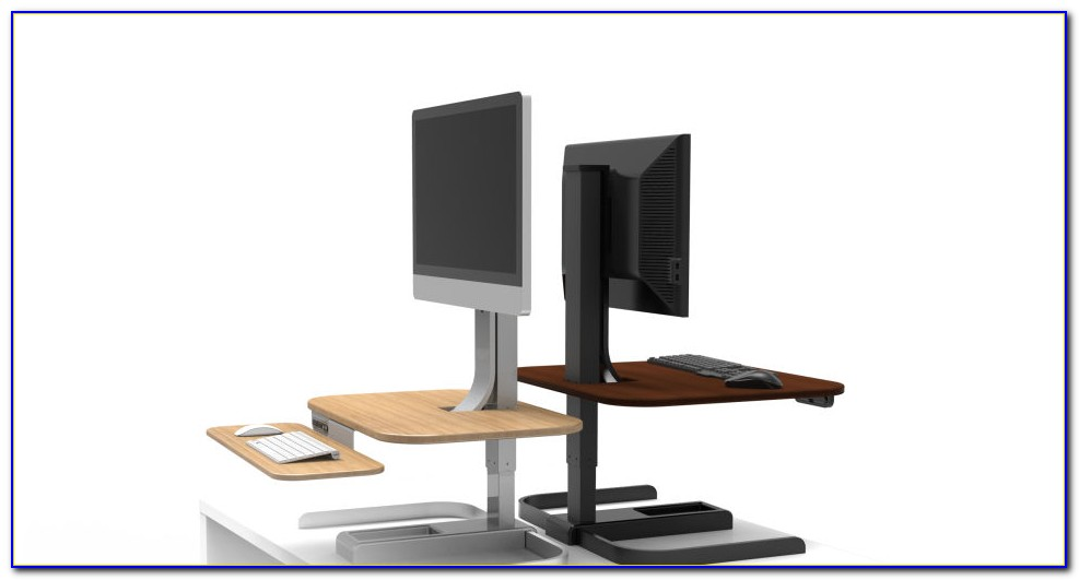 Turn Desk Into Stand Up Desk