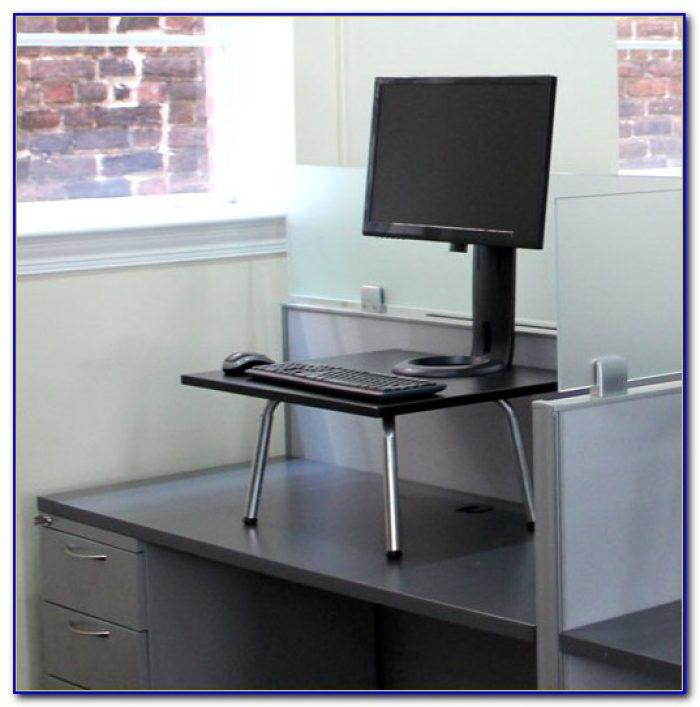 Turn Existing Desk Into Standing Desk