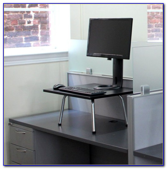 Turn Existing Desk Into Standing Desk