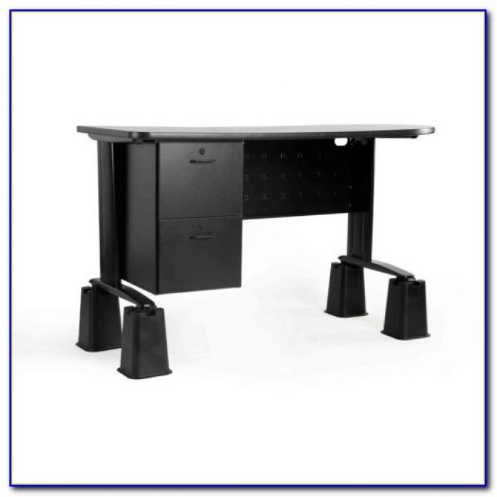 Turn Standard Desk Into Standing Desk Desk Home Design