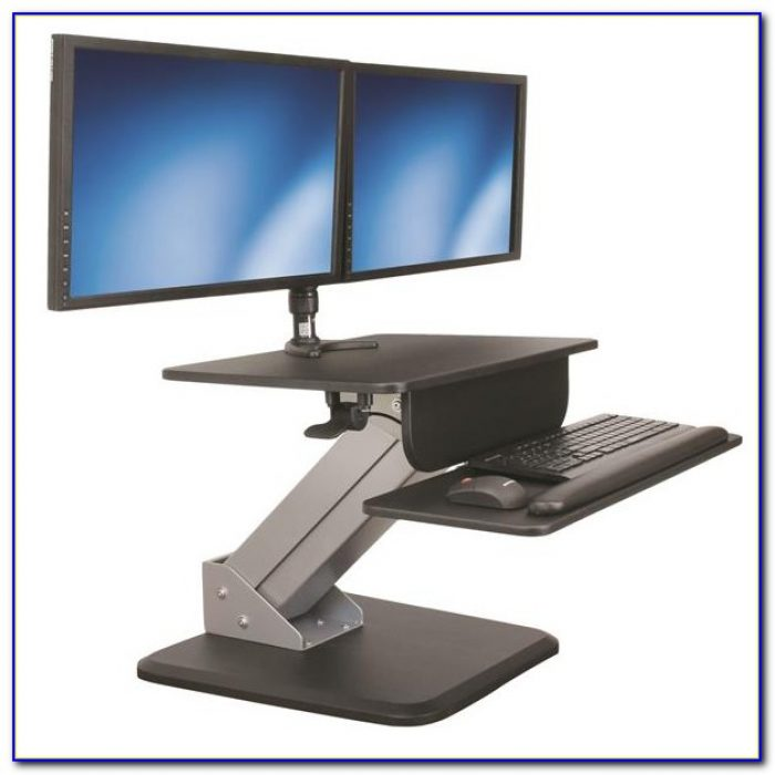 Turn Your Work Desk Into A Standing Desk