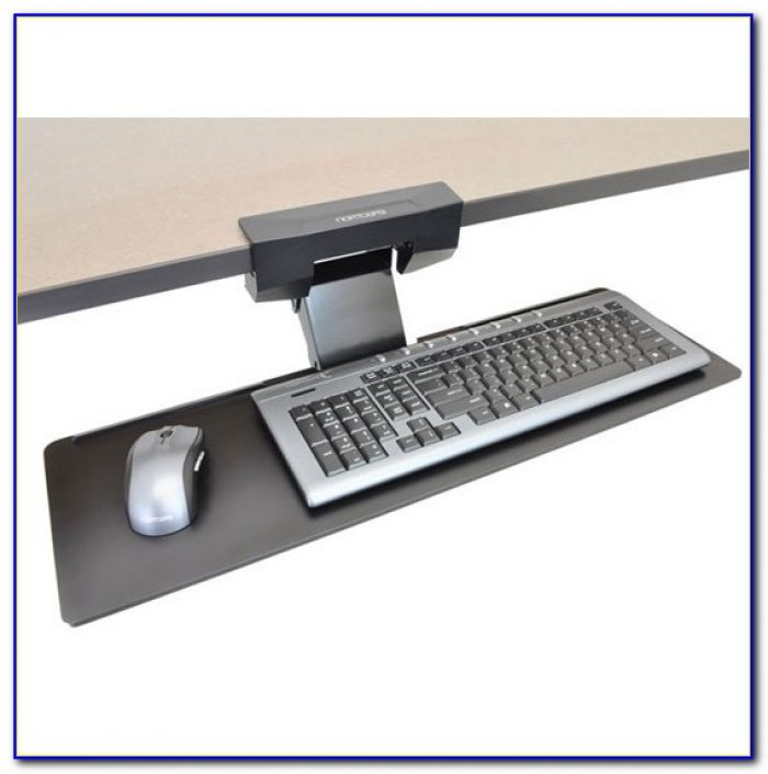 Under Desk Keyboard Tray For Ergonomic Keyboard