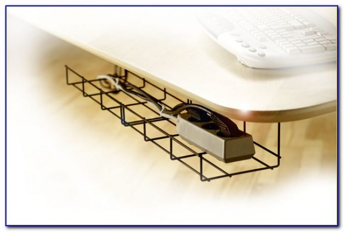 Under Table Cable Tray