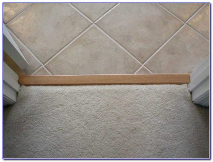 Vinyl Tile To Carpet Transition Strips