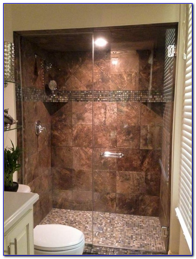 Walk In Tile Showers Without Doors