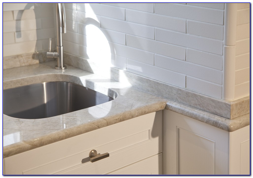 White Ceramic Tile Edge Trim
