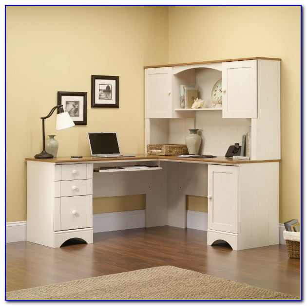White Corner Desk With Hutch Uk