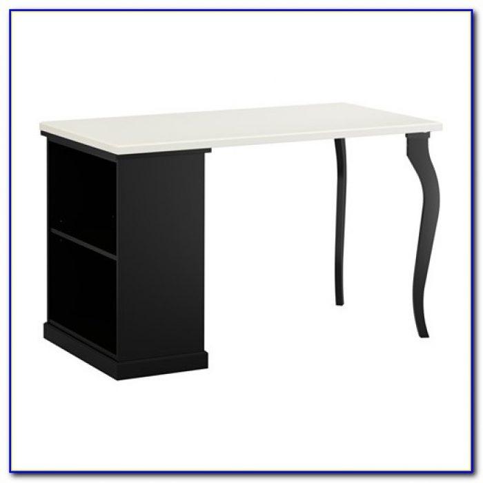 White Desk With Cpu Storage Desk Home Design Ideas
