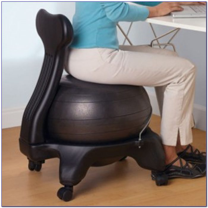 Yoga Ball Desk Chair Size