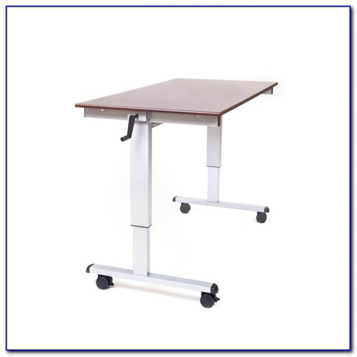 Adjustable Height Stand Up Computer Desk