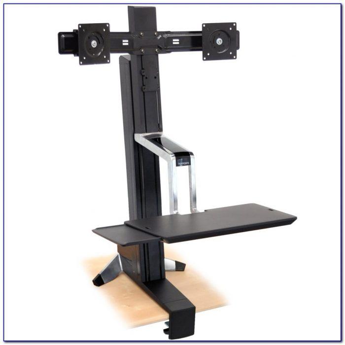 Dual Monitor Standing Desk Converter Desk Home Design