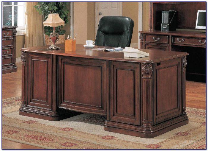 Aspen Double Pedestal Executive Desk