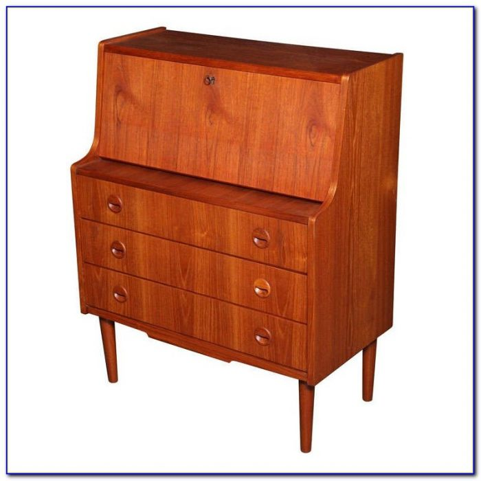Bernards Drop Down Secretary Desk
