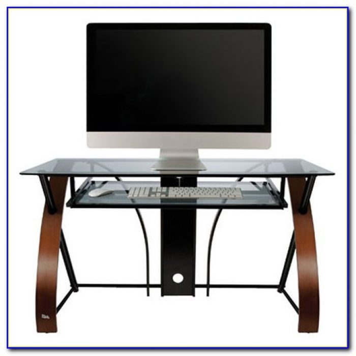 Pull Out Keyboard Tray For Glass Desk Desk Home Design