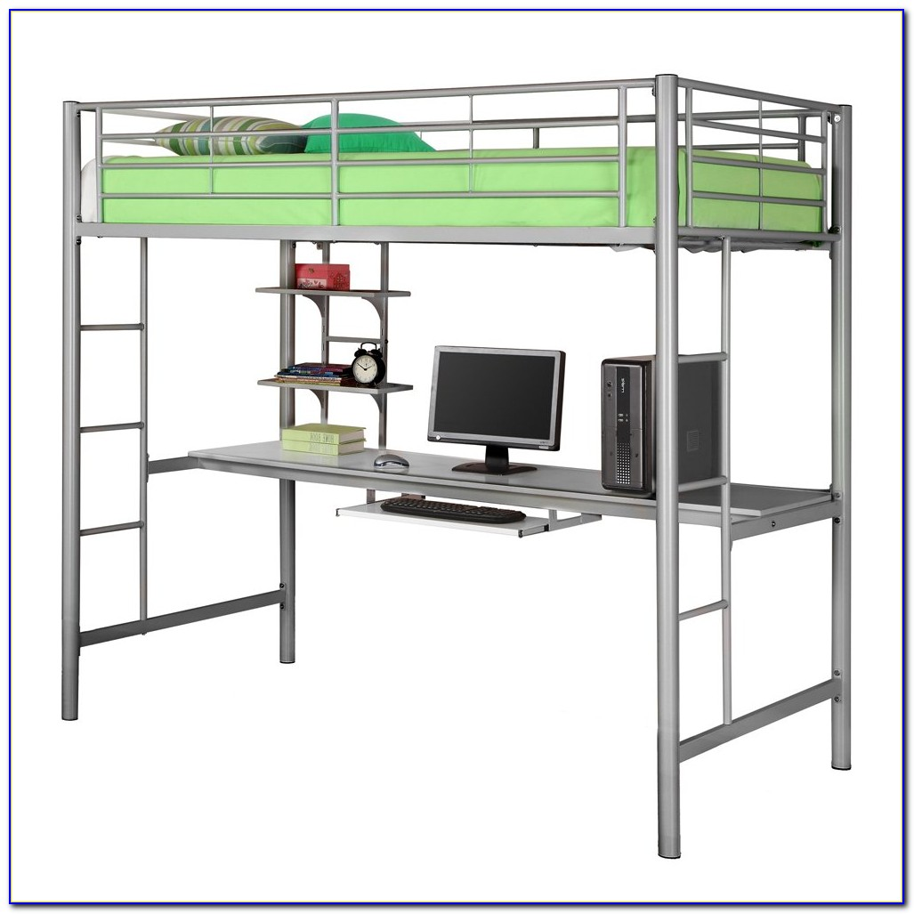 Bunk Bed With Desk Underneath Plans Download Page Home