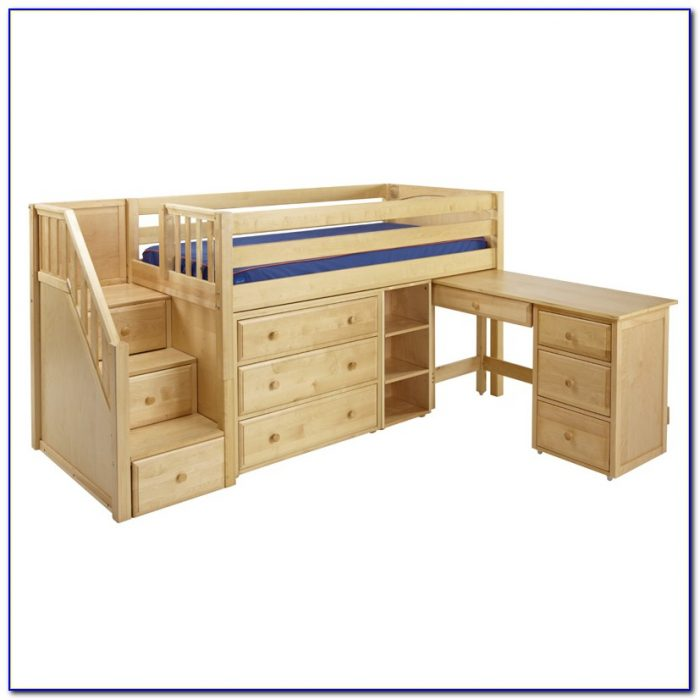 bunk beds with desk and dresser beds home design ideas
