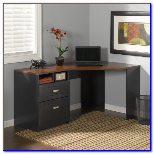Bush Wheaton Corner Computer Desk Desk Home Design