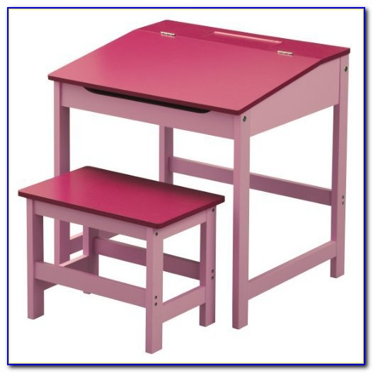 Children's Drawing Table And Chairs