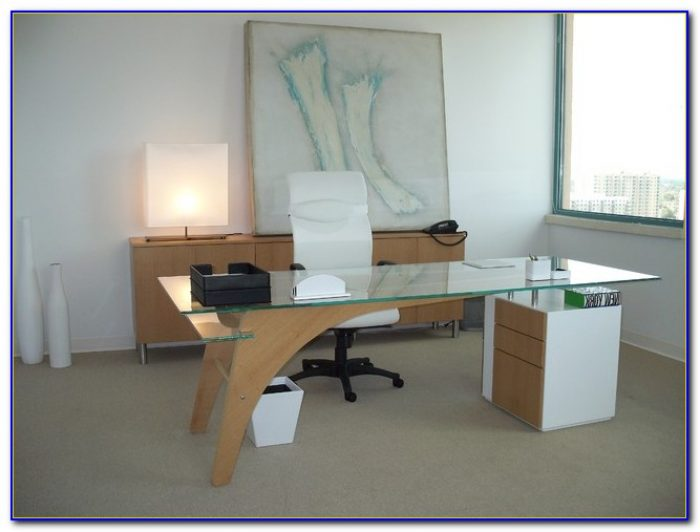 Contemporary Home Office Furniture Sets Desk Home