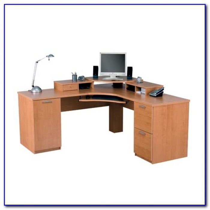 Corner Desk With Keyboard Tray Desk Home Design Ideas
