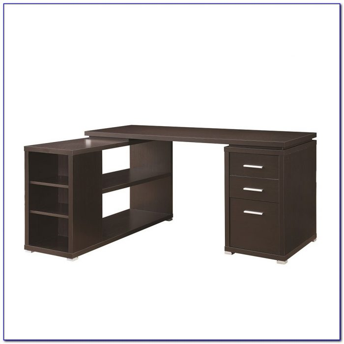Corner Desk Shelf Unit