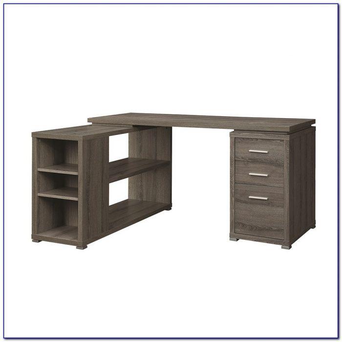 Corner Desk Shelving Unit