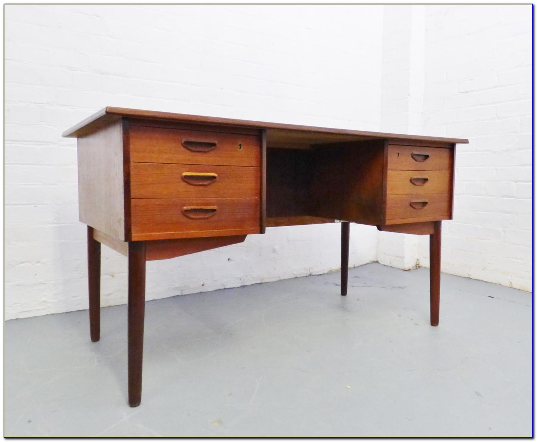 Danish Mid Century Modern Desk