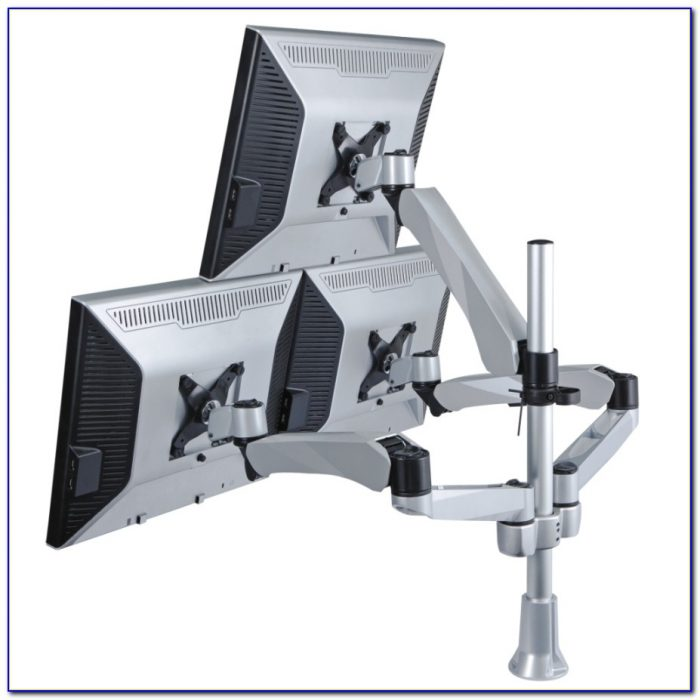 Desk Mount Dual Monitor Stand