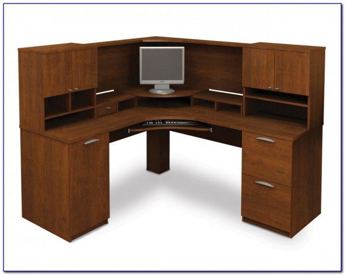 Desktop Corner Shelf Unit