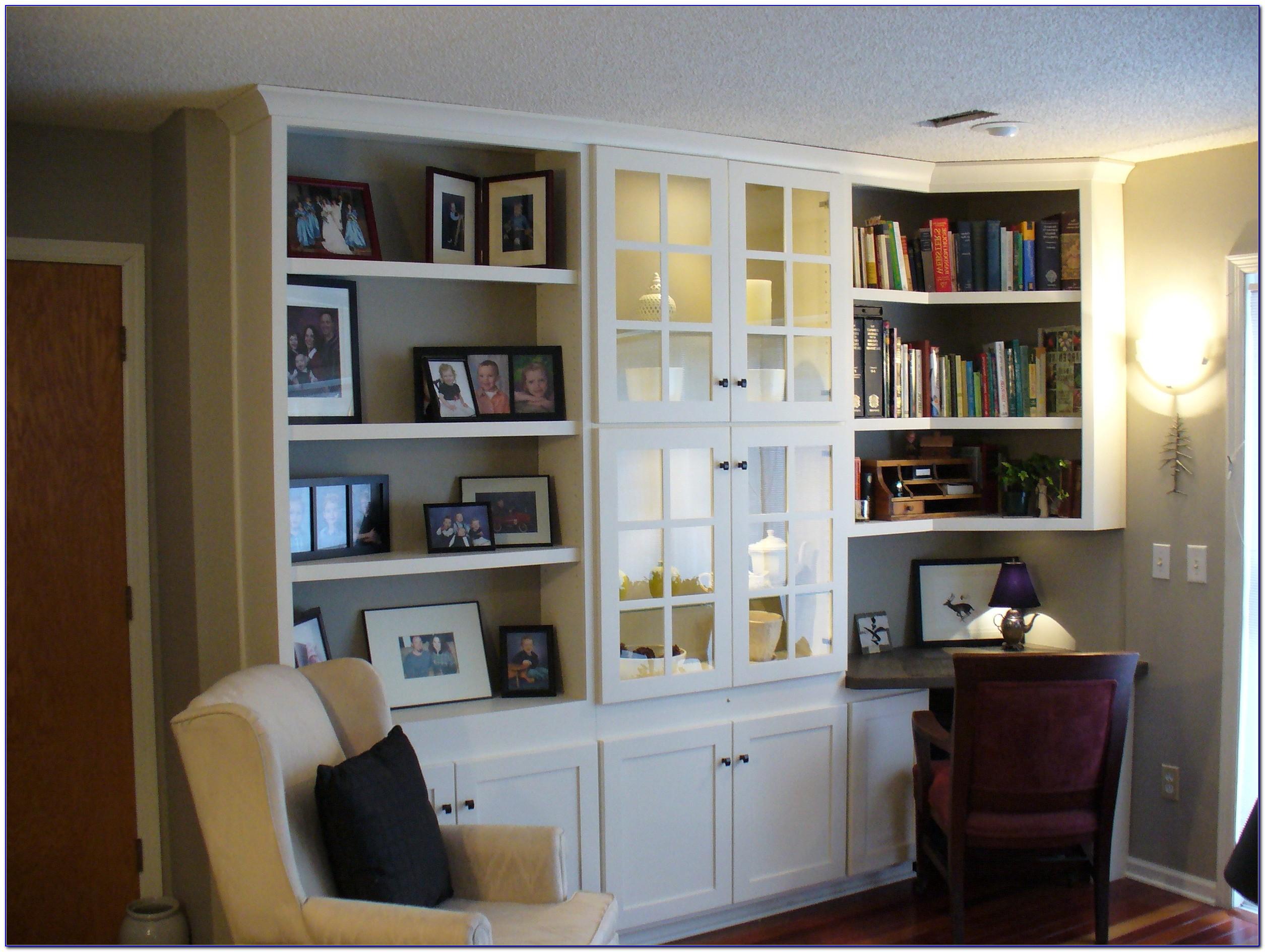 Diy Built In Bookshelves And Desk