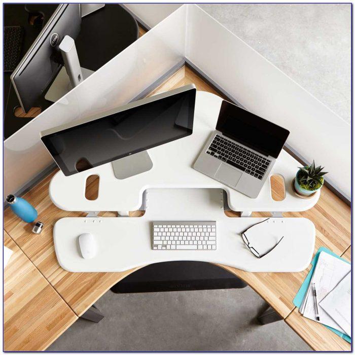 Diy Standing Desk In Cubicle