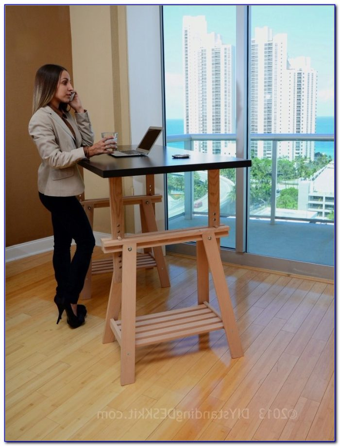 Do It Yourself Adjustable Standing Desk