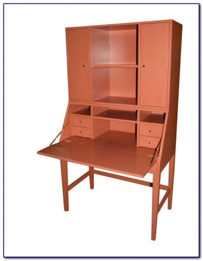 Drop Down Lid Secretary Desk