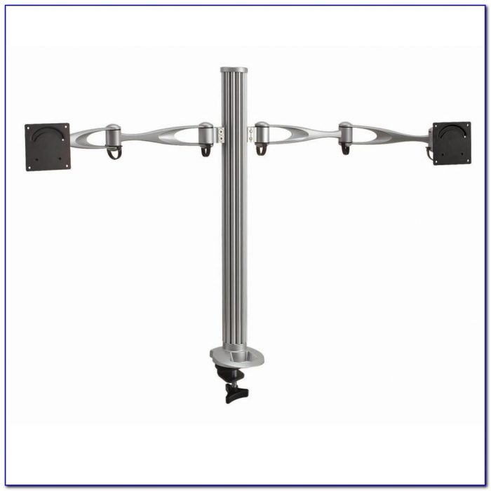 Dual Monitor Stand Desk Mount