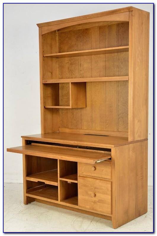 Ethan Allen Maple Computer Desk Desk Home Design Ideas