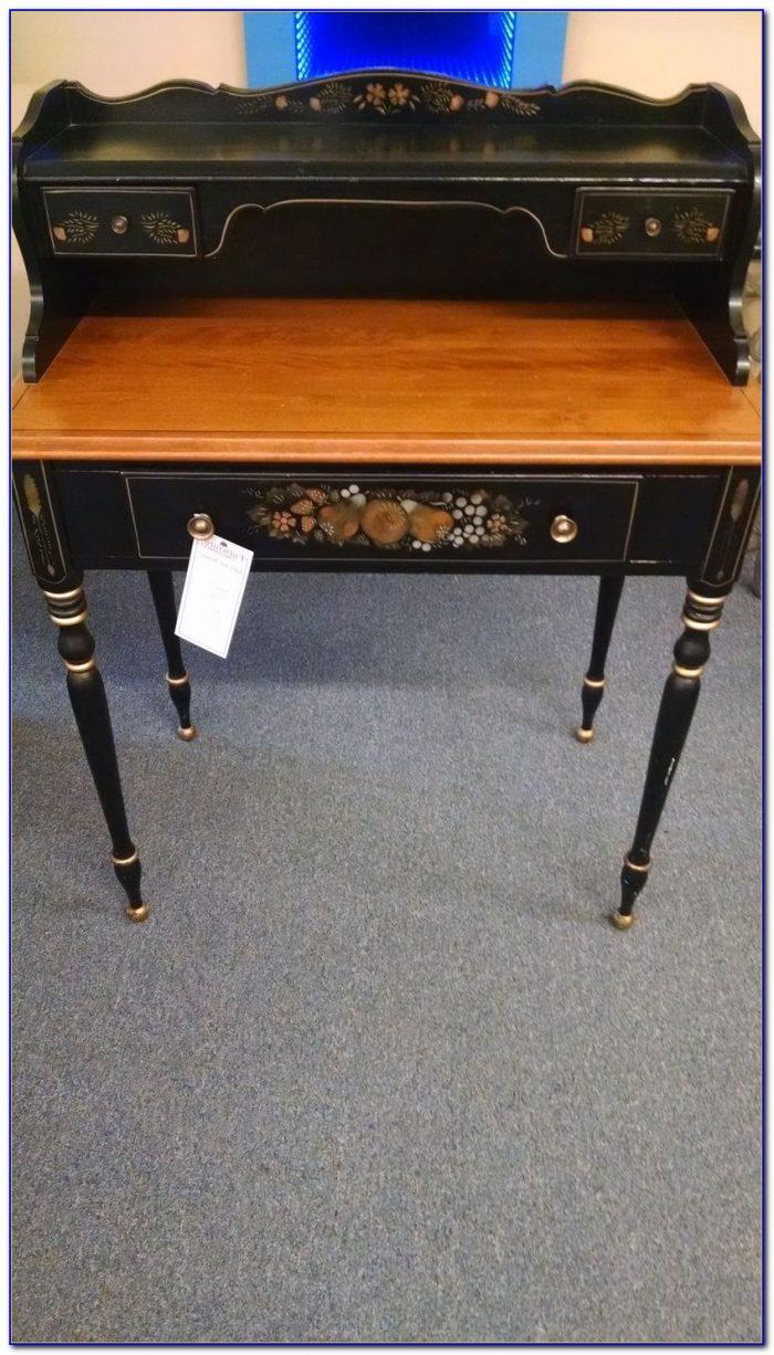 Queen Anne Desk >> Ethan Allen Ladies Writing Desk - Desk : Home Design Ideas ...