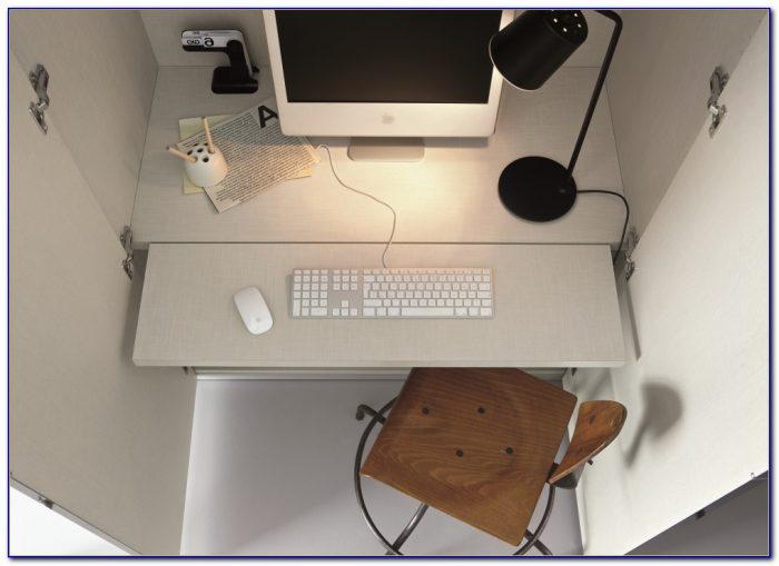 Fold Away Computer Wall Desk
