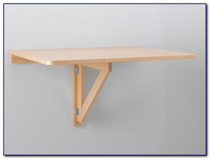 Folding Work Table Wall Mounted