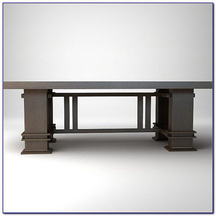 Frank Lloyd Wright Style Desk