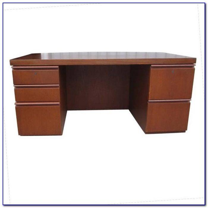 Geneva Double Pedestal Executive Desk