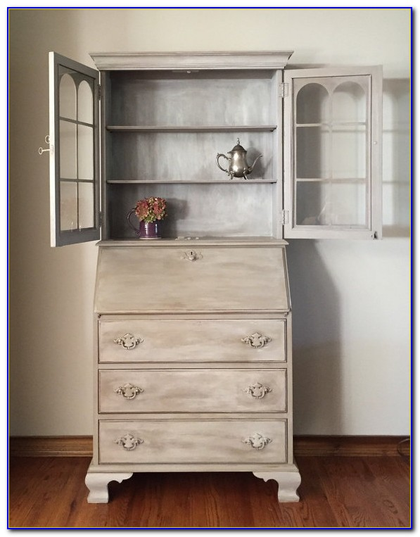Hemnes Secretary Desk And Hutch