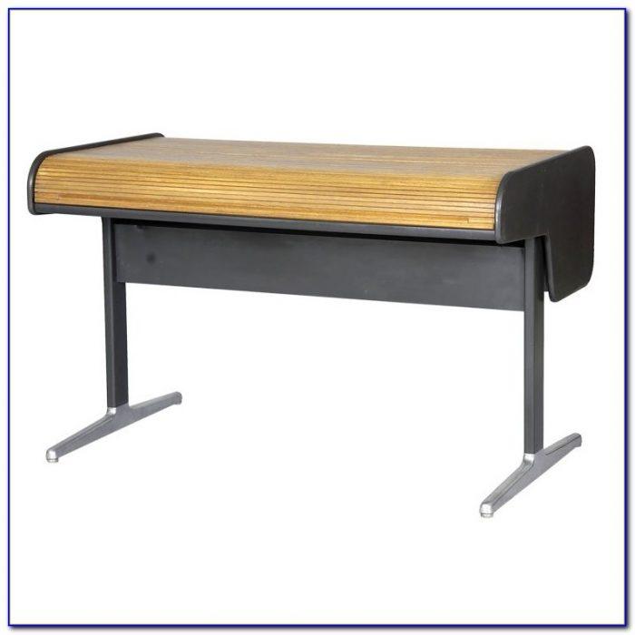 Herman Miller George Nelson Roll Top Desk Desk Home