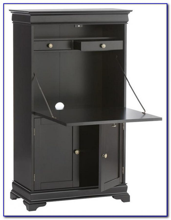 Home Decorators Collection Oxford Tall Secretary Desk