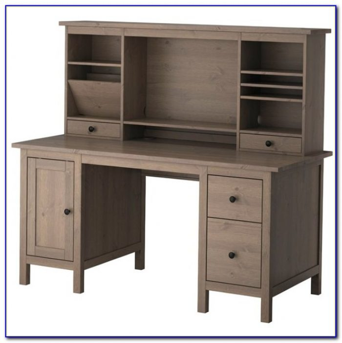 Ikea Alve Secretary Desk With Hutch