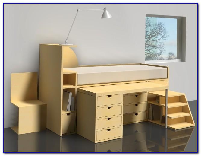 Ikea Bed Desk Combo Desk Home Design Ideas