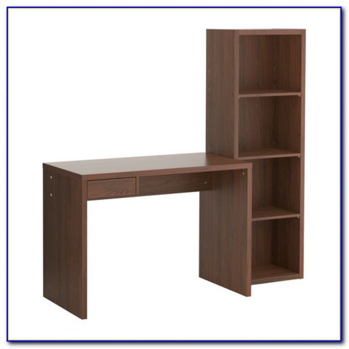 Ikea Expedit Desk With Bookshelf