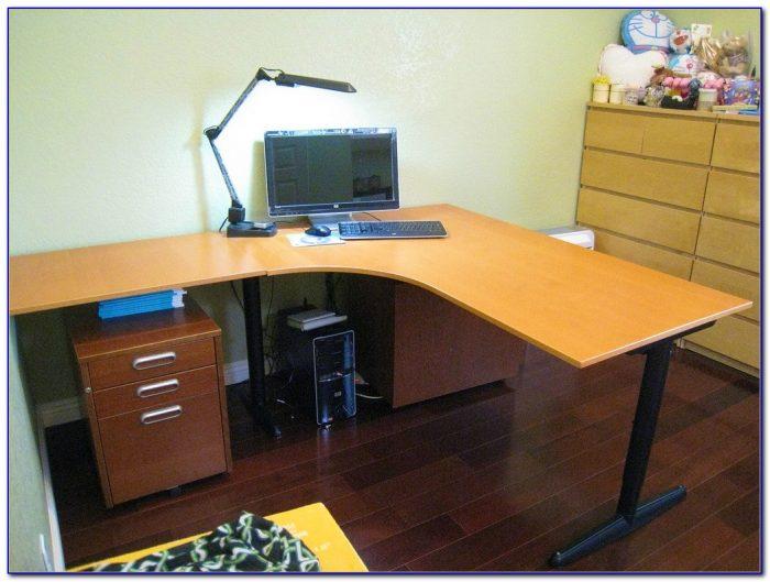 Ikea L Shaped Desk Top